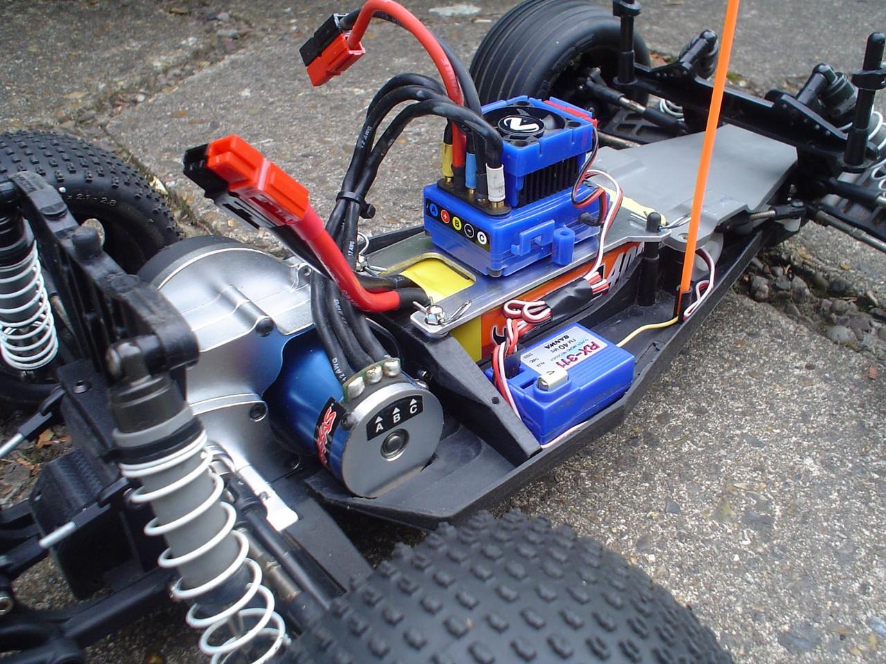 Rustler Vxl Video Motor And 3s Rhino Lipo